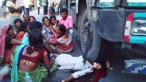 हादसा दनियावां चंडी रोड जाम 1 – Nalanda Darpan / नालंदा दर्पण : गाँव-जेवार की बात। – गाँव-जेवार की बात।