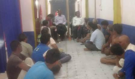 Chandi CO celebrando las excavadoras en el estomago de los pobres Male actuara frente a DM el 20 de abril 2 – Nalanda Darpan / नालंदा दर्पण : गाँव-जेवार की बात। – गाँव-जेवार की बात।