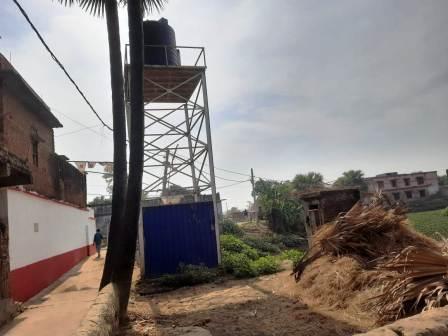 CMs water tank has become a thing of beauty in this block 1 – Nalanda Darpan / नालंदा दर्पण : गाँव-जेवार की बात। – गाँव-जेवार की बात।