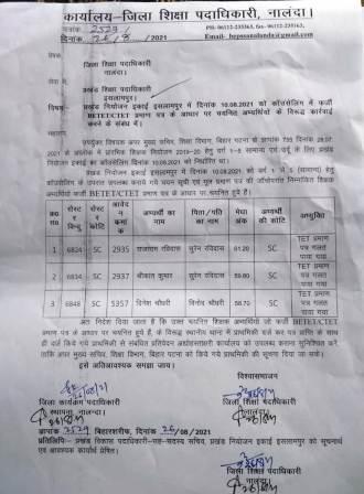 Islampur fraud in teacher 2 – Nalanda Darpan / नालंदा दर्पण : गाँव-जेवार की बात। – गाँव-जेवार की बात।