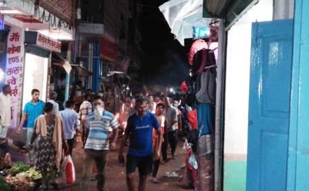 Cleaners took out a masala procession raised anti government slogans started the strike 1 – Nalanda Darpan / नालंदा दर्पण : गाँव-जेवार की बात। – गाँव-जेवार की बात।
