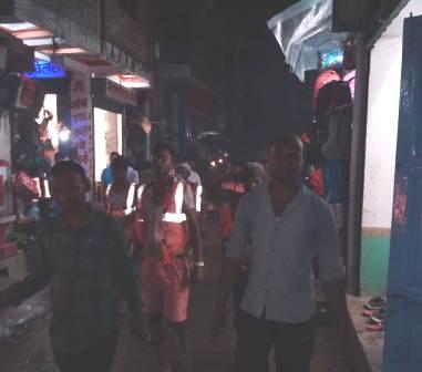 Cleaners took out a masala procession raised anti government slogans started the strike 3 – Nalanda Darpan / नालंदा दर्पण : गाँव-जेवार की बात। – गाँव-जेवार की बात।
